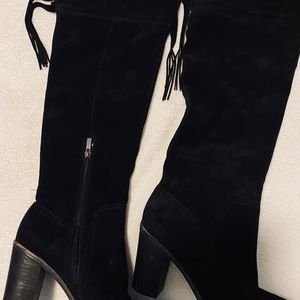Almost Brand New Knee High Boots By FRANCO SARTO